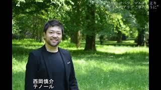 """西岡慎介 フロトウ作曲 オペラ「マルタ(Martha)」より""""夢のように"""" Ach so fromm"""