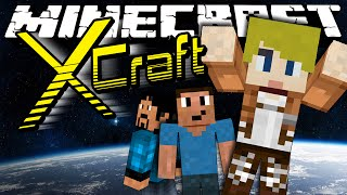 Minecraft: XCraft - LOST IN SPACE! (Roleplay) Ep. 1