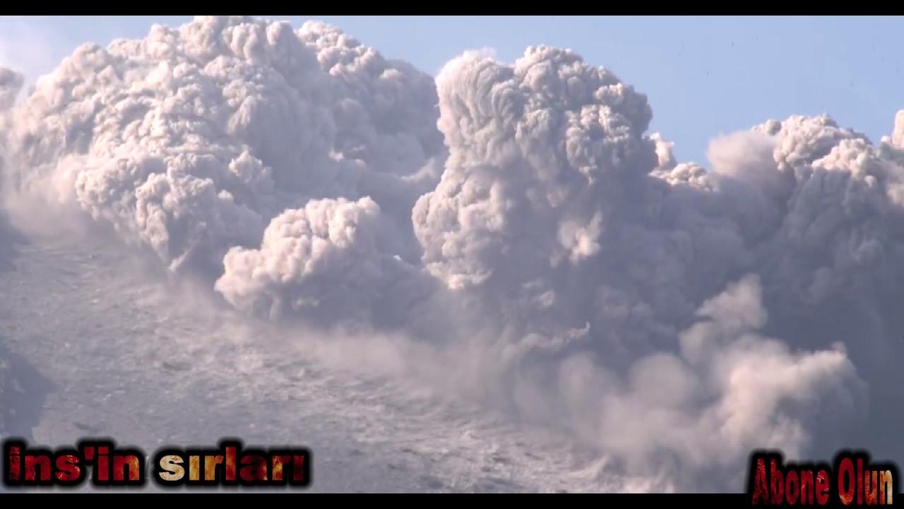 Yanardağın patlamasının nedeni nedir