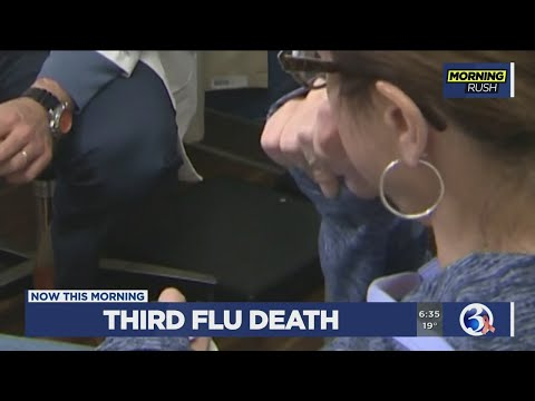 VIDEO: Health officials confirm 3rd flu-related death in Connecticut thumbnail