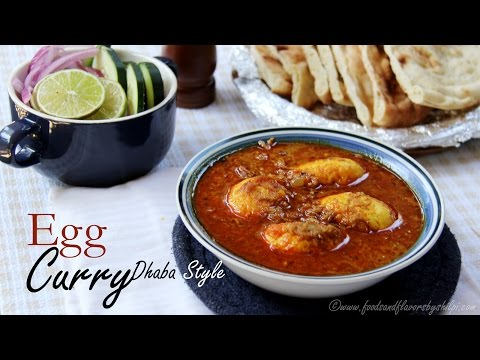 Egg Curry Recipe | Punjabi Dhaba Egg Curry - Easy And Quick Egg Curry Recipe