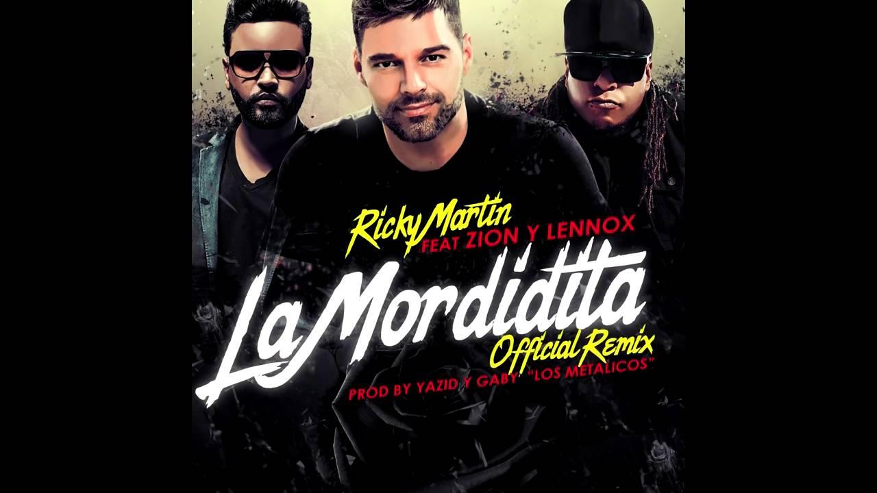 Download Ricky Martin Feat Zion y Lennox   La Mordidita Remix