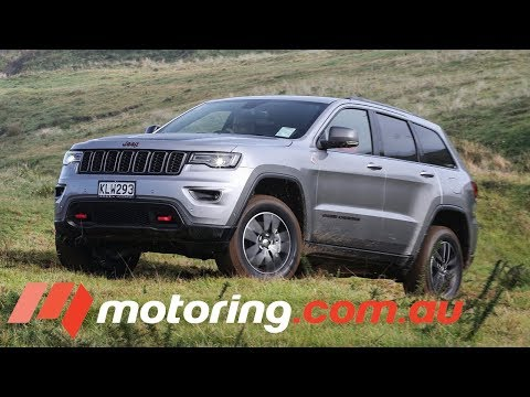 2017 Jeep Grand Cherokee SRT & Trailhawk Review | motoring.com.au