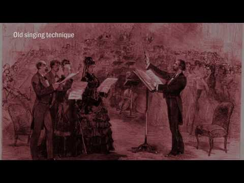 Contemporary singing technique -VS- Old singing technique