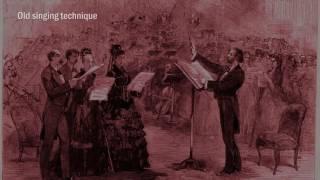 Contemporary singing technique -VS- Old singing technique