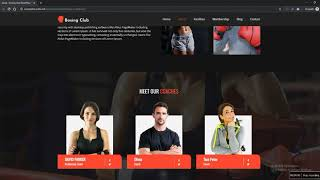 Boxing and Martial Arts Club WordPress Theme