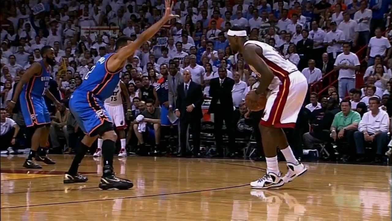 """Leg Cramps"" LeBron James Hits Clutch 3 (2012 NBA Finals Game 4) [HD] - YouTube"