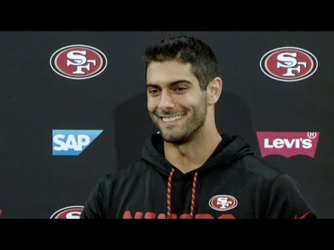 Jimmy Garoppolo: 'We Have a Very Good Locker Room'