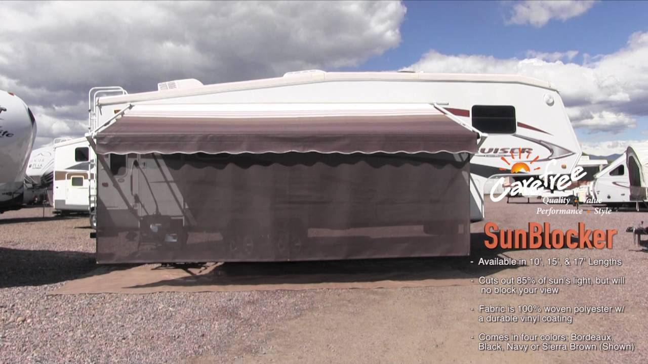 82178402 6X17 Awning Sun Block Panel CAREFREE//CO