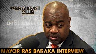 Mayor Ras Baraka Interview at The Breakfast Club Power 105.1 (06/03/2016)