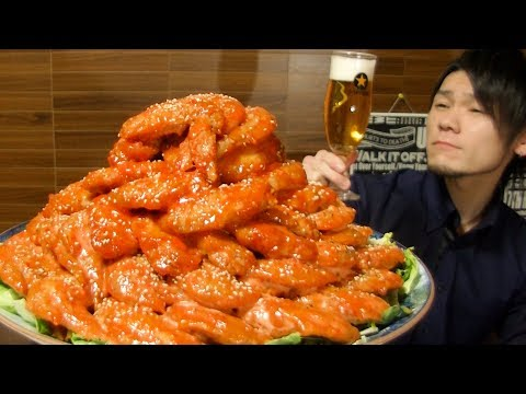 �大食�】手羽先����100本~ピリ辛�簡��安��美味�������~