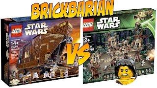 Lego Investing 101 Ewok Village or Sandcrawler?