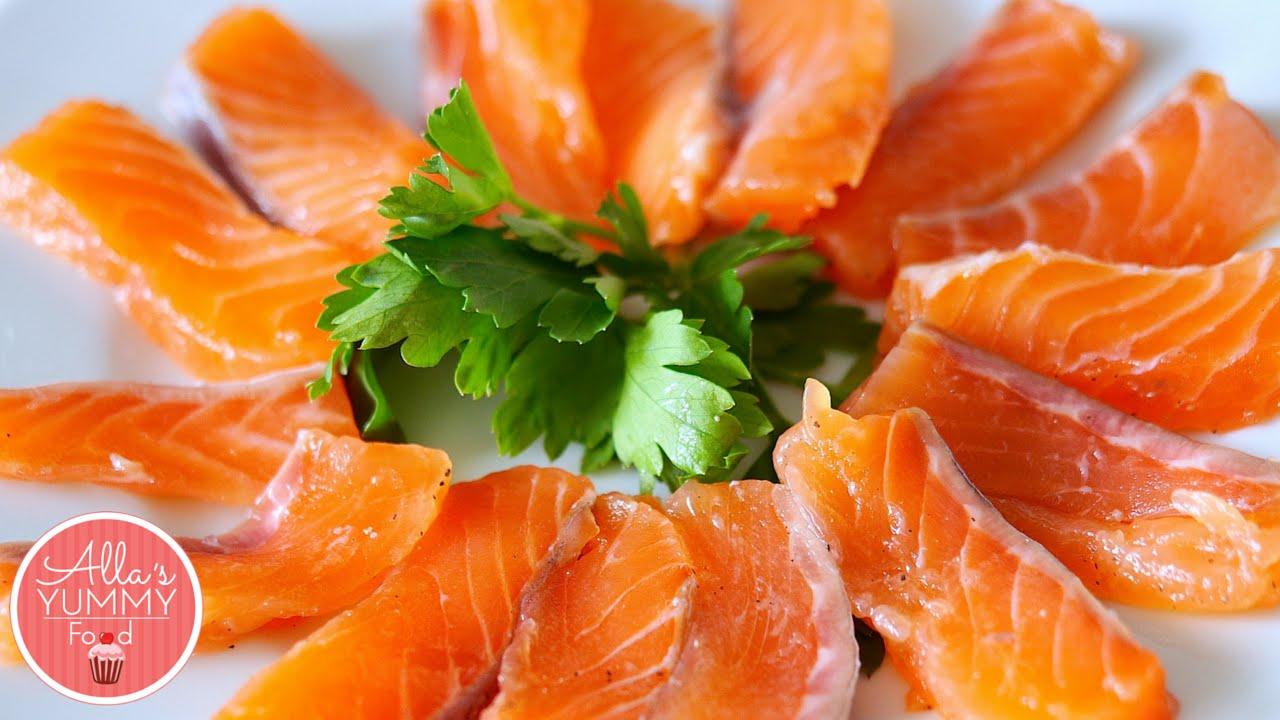 How to Salt Salmon at home | Как засолить лосось или семгу дома