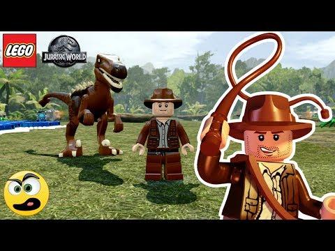 LEGO Jurassic World - Indiana Jones e o seu Dinossauro - Caraca Games