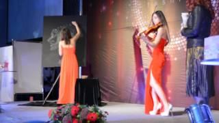 Конференция Красноярск Презентация Фаберлик  Девушка с скрипкой