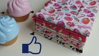 Dobrando e Organizando seus tecidos de costura