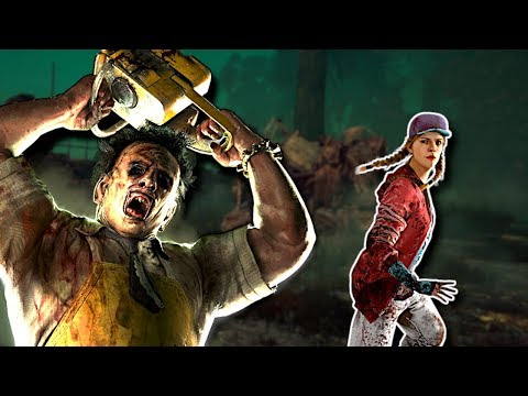 HIDING FROM LEATHERFACE! - Dead By Daylight Gameplay |