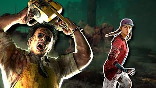 HIDING FROM LEATHERFACE! - Dead By Daylight Gameplay