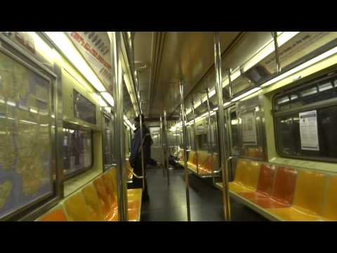 NYC Subway Fastrack: On-Board R62A # 2330 On The (1) From 96th Street To Harlem-148th Street
