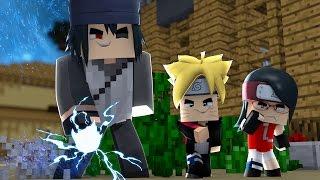 Minecraft: BORUTO - SARADA FICOU COM CIUMES DO BORUTO #5