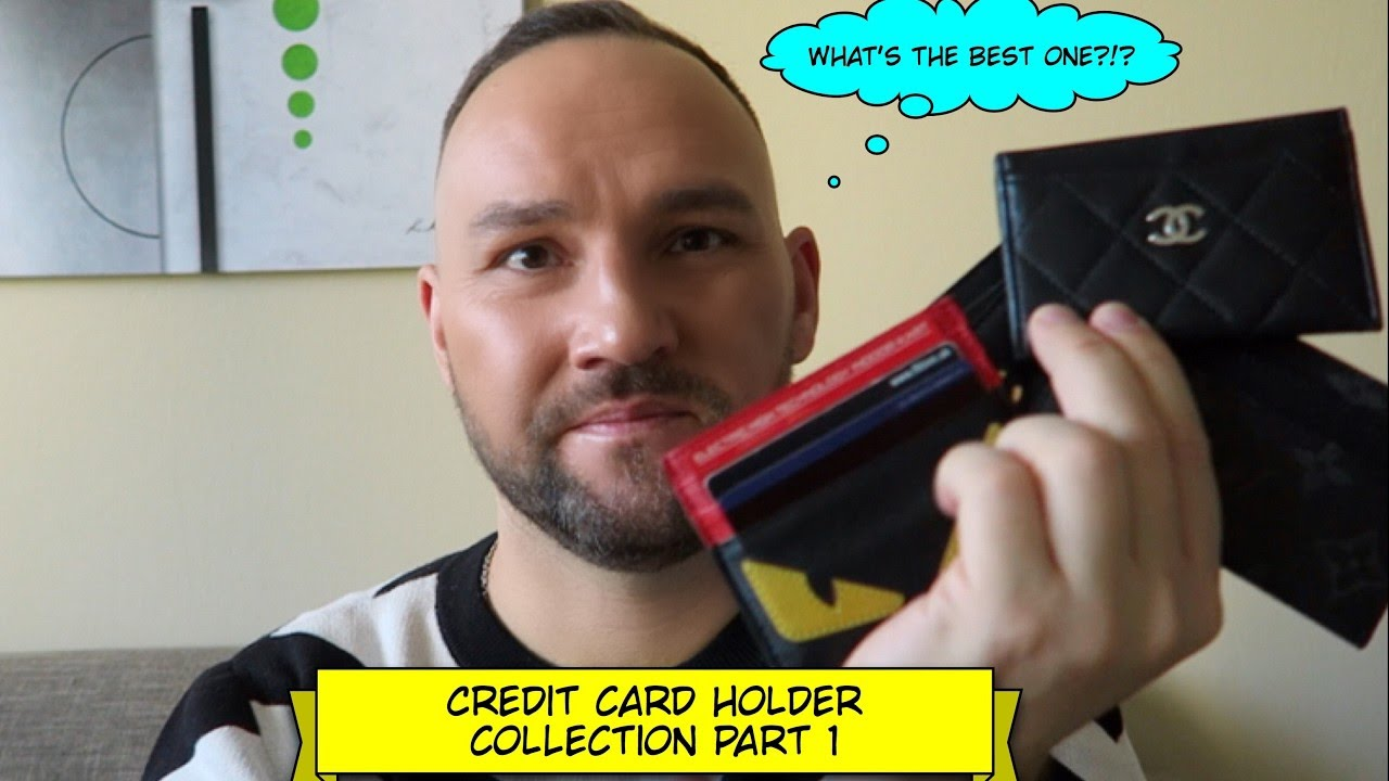 Fendi Monster Credit Card Holder
