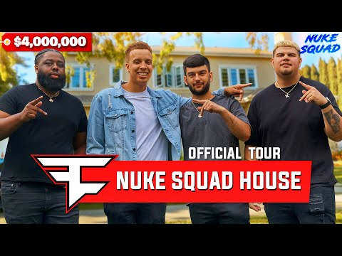 Welcome to the FaZe Nuke Squad Warzone House!