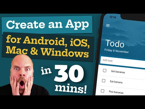 Create An App For Android, IOS, Mac & Windows - In 30 MINUTES!