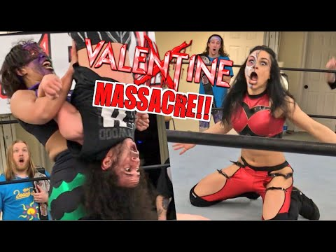 HE ACTUALLY KISSED THUNDER ROSA! SHE WAS PISSED! GTS Wrestling PPV EVENT MELTDOWN!
