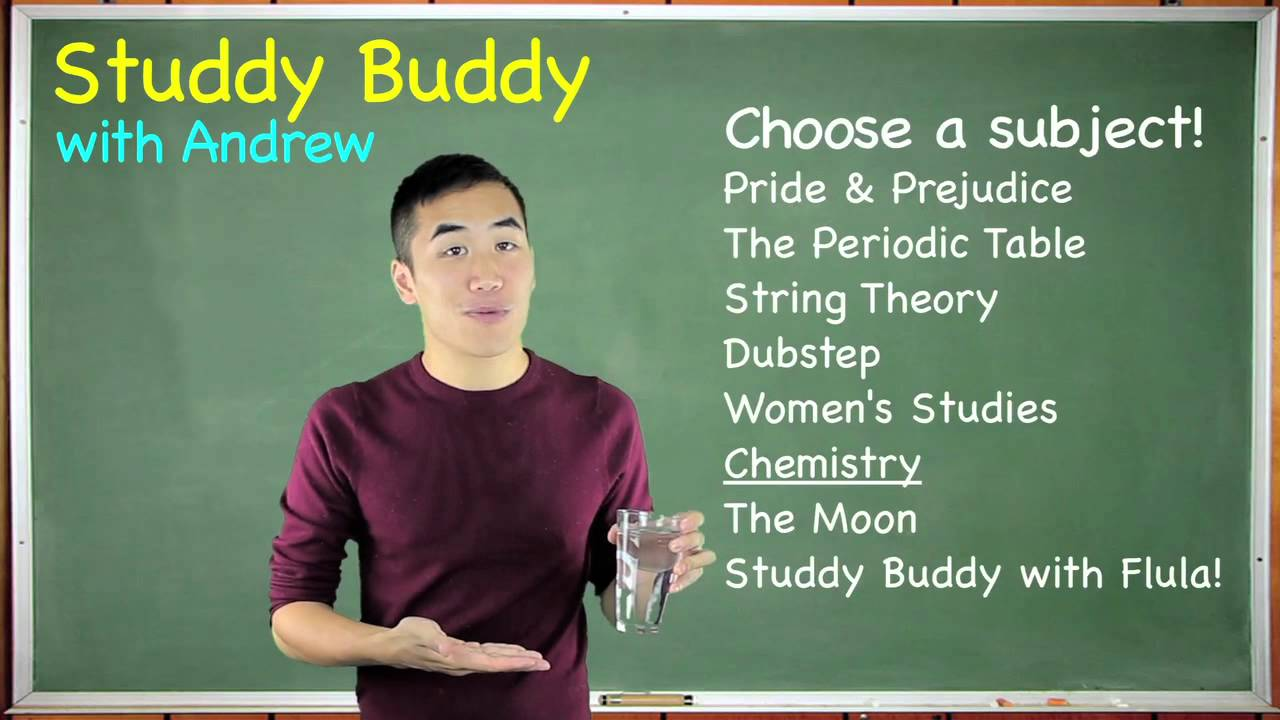 Studdy Buddy: Chemistry - It's my favorite subject, science!