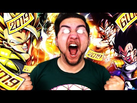 I GOT EVERYTHING!!! OVER 20 SPARKINGS, I AM THE HYPE!!   Dragon Ball Legends New Year Rising Banner