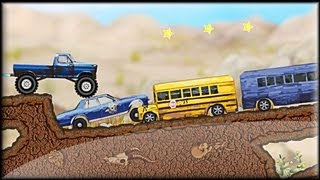 Monster Truck Trip 2 - Game preview / gameplay