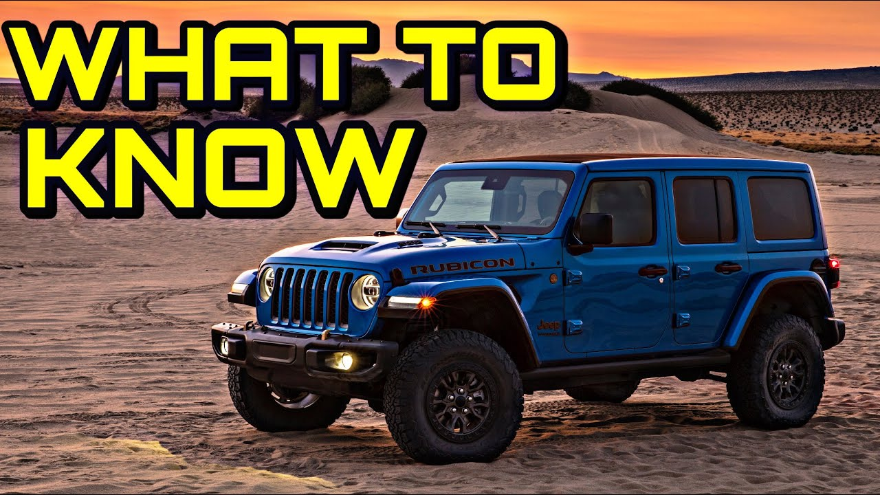 What Everyone NEEDS To Know About The 2021 Jeep Wrangler