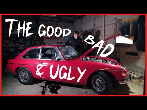 MGB GT The Good, The Bad, The Ugly 😖