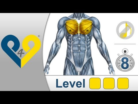 Chest Workout Level 3 (no music)