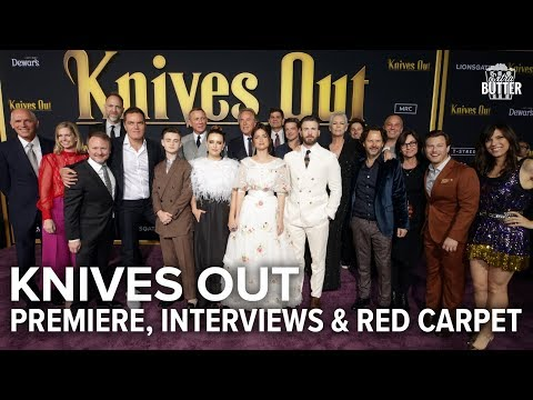 Knives Out: Premiere, Interviews & Red Carpet in Los Angeles | Extra Butter