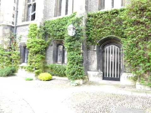 A walk round Corpus Christi College, Cambridge