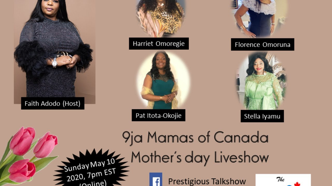 PRESTIGIOUS TALKSHOW - MOTHER'S DAY LIVESHOW (may 10, 2020)