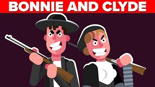 Most EVIL Crime Couple in American History - Bonnie and Clyde