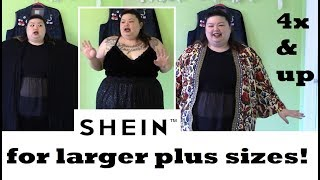 SheIn First Impressions & Try On // Will it fit larger plus sizes?