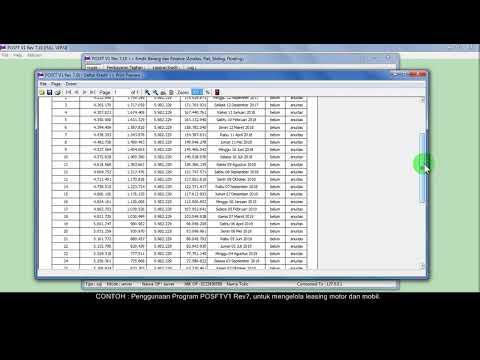 Aplikasi untuk leasing motor dan mobil | Manajemen Finance