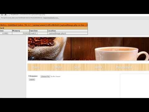 Create a website with PHP - Part 3 CMS (2/2)