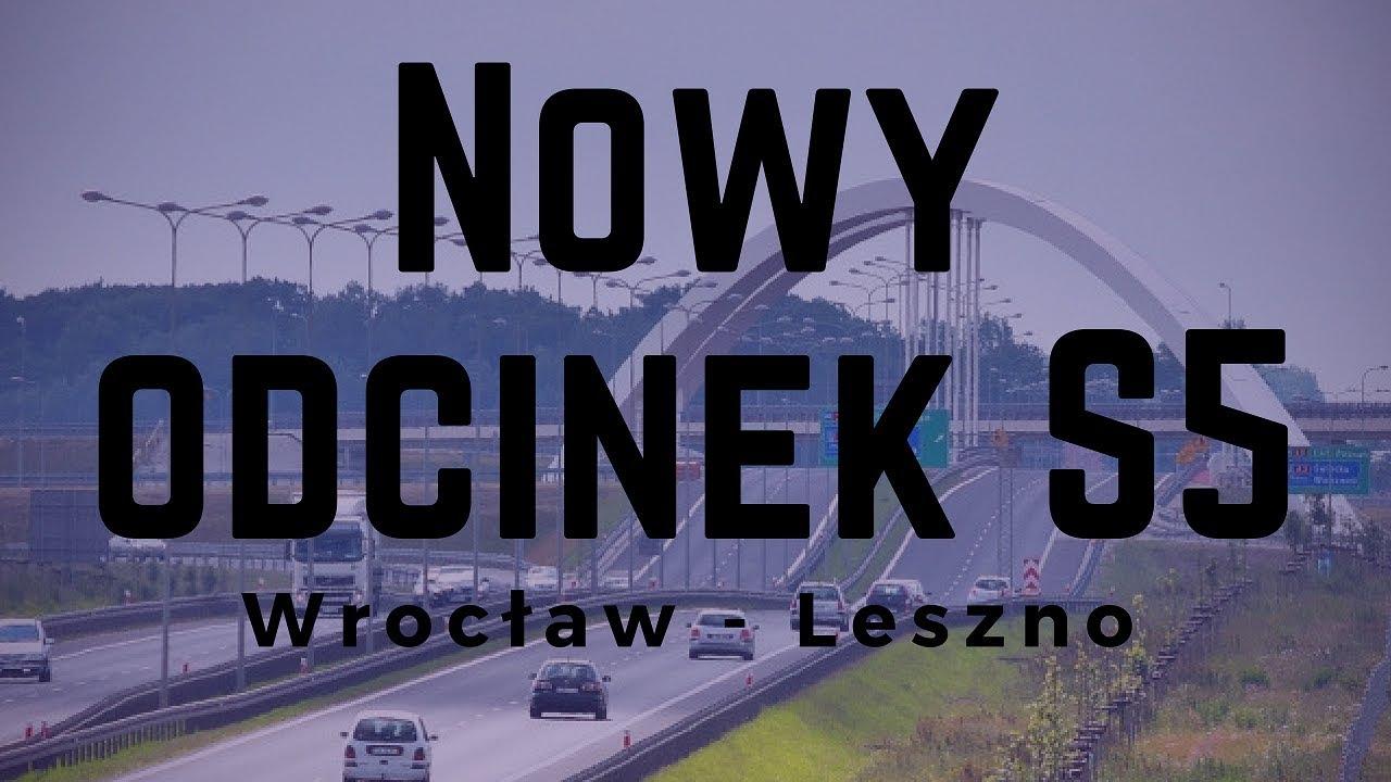 Wrocław - Poznań TESLĄ w 1,5h! NOWY ODCINEK S5