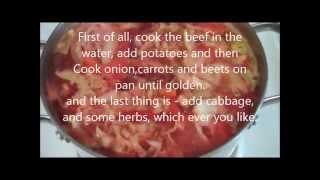 Russian Borscht Recipe/cabbage Soup-wow-the Best Ever