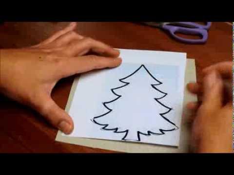 C mo hacer un patr n o plantilla para aplicaciones de - Como hacer cuadros de tela ...