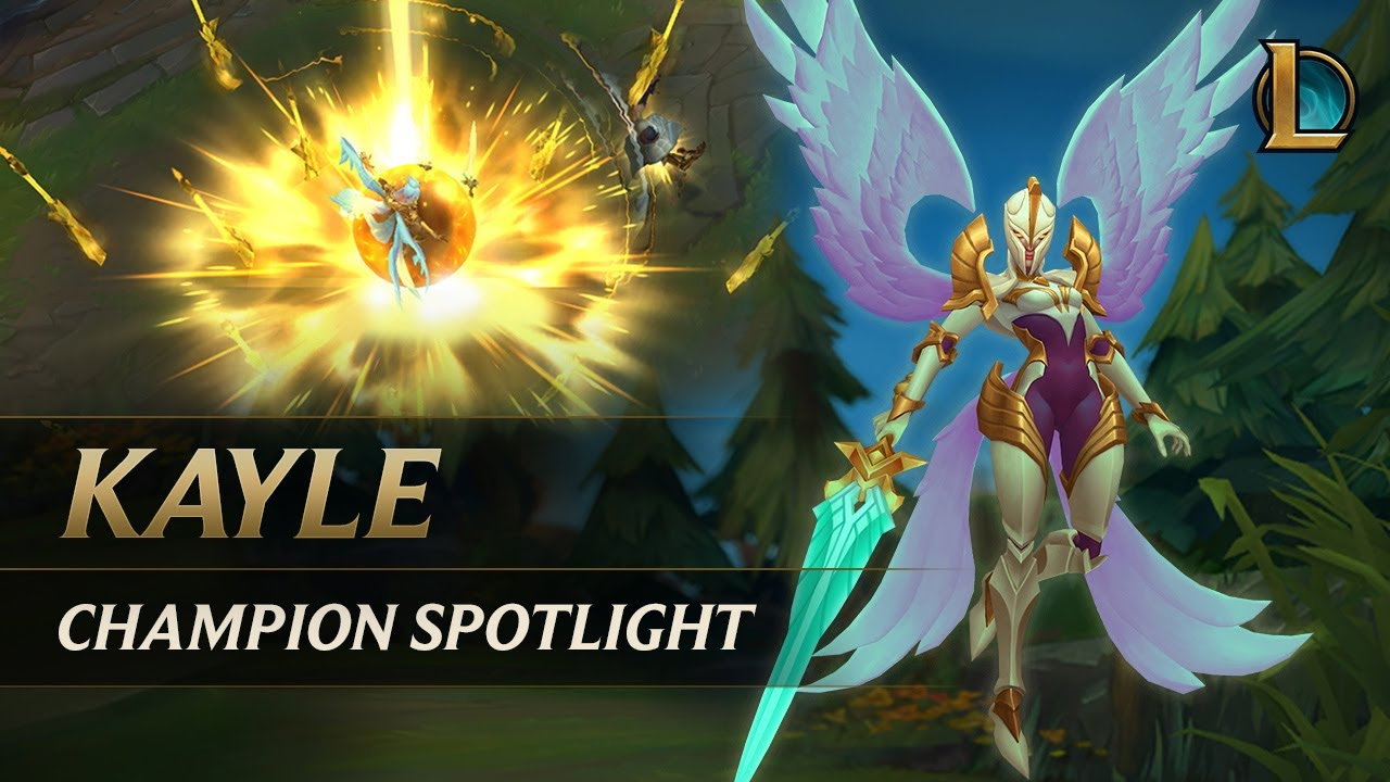 Kayle Champion Spotlight Gameplay League Of Legends
