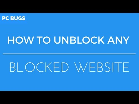 How To Unblock Any Website II Google Chrome II PC Bugs