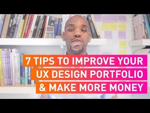7 Tips to Improve your UX Design Portfolio & Make More Money | #DigitiveTV Episode 4