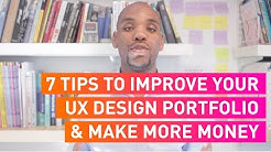 7 Tips to Improve your UX Design Portfolio & Make More Money | #DigitiveTV Episode 4