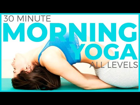 30 minute Mindful Morning Yoga for All Levels | Sarah Beth Yoga