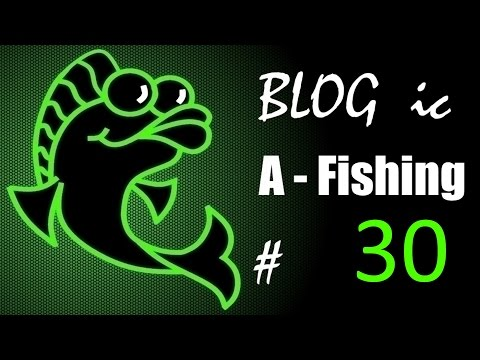 BLOGic # 30 🎣 Юбилейный выпуск и 2 года каналу A   Fishing рыбалка!🎣